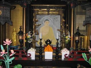 長野市仏教会成道会法要写真