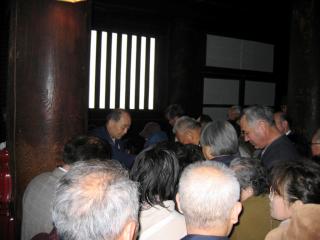 長野市仏教会遺族会法要写真