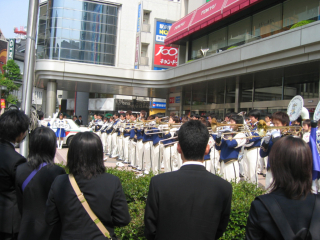 長野市仏教会主催仏都はなまつり善光寺まで稚児行列イベント写真