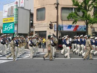 長野市仏教会主催仏都はなまつり善光寺までながの中央通り稚児行列イベント写真