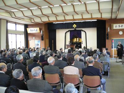 長野市仏教会活動写真